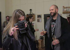 Дидо и съпругата му Юлия също изпробваха фотографския си талант